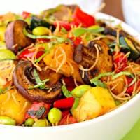 Aloha Noodle Bowl (Vegan)