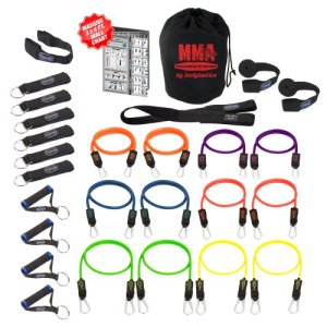Bodylastics 28 Piece Resistance Band Set