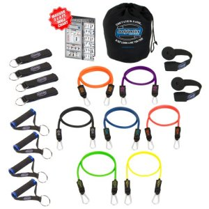 Bodylastics 19 Piece Strong Man Resistance Bands