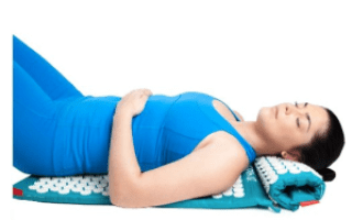 Spoonk Cotton Combo Massage and Travel Acupressure Mat