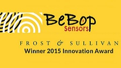 BeBop Sensors Wins Frost & Sullivan 2015 Technology Innovation Award