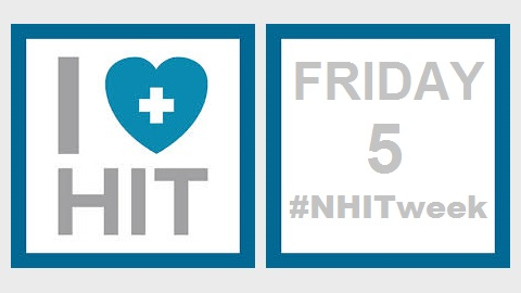 The Friday Five – National Health IT Week Recap