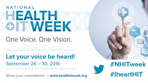 Expanding the Value of Health IT, Transforming Health, National Health IT Week Kicks Off Today!