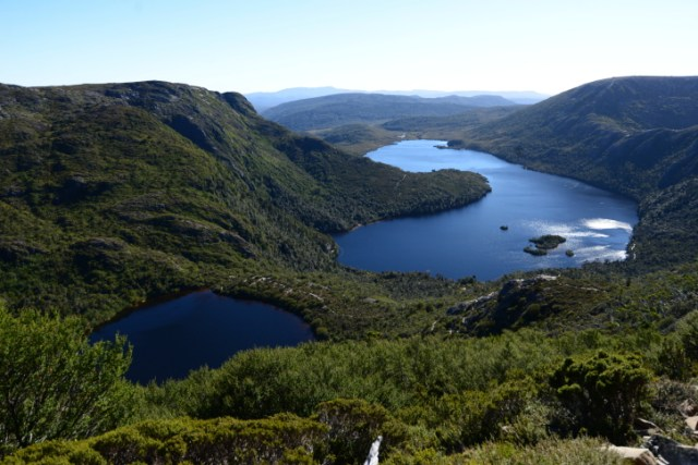 Dove Lake and Lake Wilks