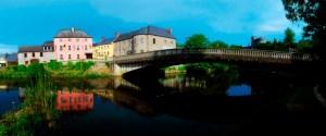 River Nore and bridge, Kilkenny City, Co Kilkenny, Ireland