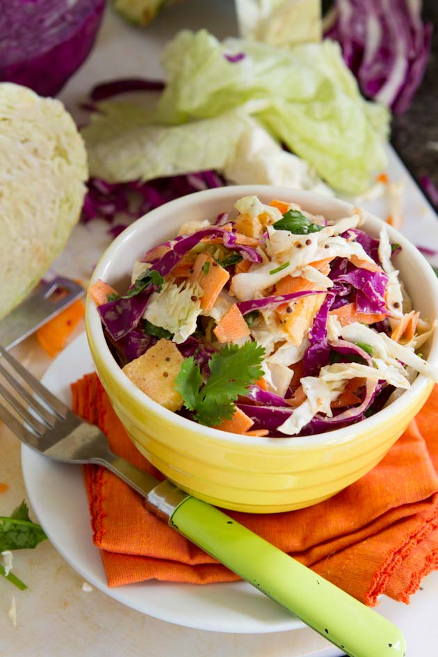 Paleo Curry Coleslaw