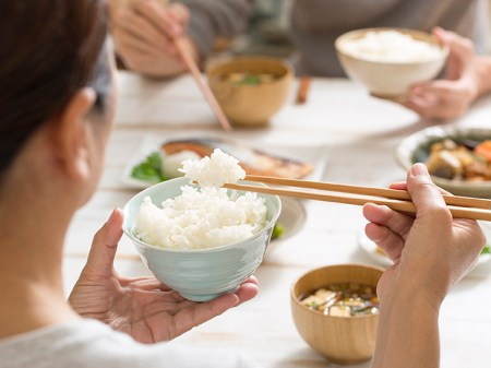 Image result for eating rice