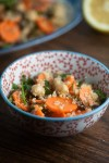 Carrot, Quinoa, and Pistachio Salad from Healthy-Delicious.com