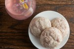 Pink Lemonade Cookies from Healthy-Delicious.com