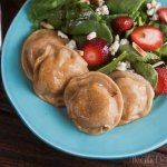 whole wheat cauliflower and potato pierogi from Healthy-Delicious.com
