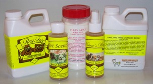 Flea Free Small Value Pack for flea infestations includes 5 products