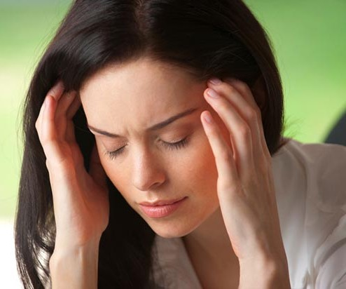This type of tinnitus may present with a sharp, painful, stabbing headache or dizziness-vertigo 2