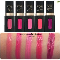 L'Oreal Paris Collection Star Pink Extraordinaire Mat Lip Color Swatches, Price & Buy Online India