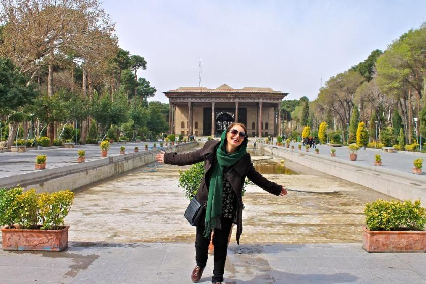 visiting Esfahan, Iran