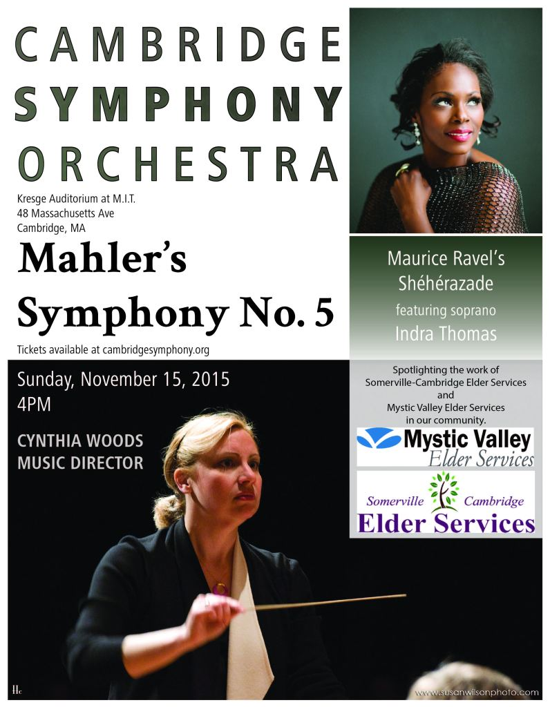 CSO Mahler Concert - CSO Posters