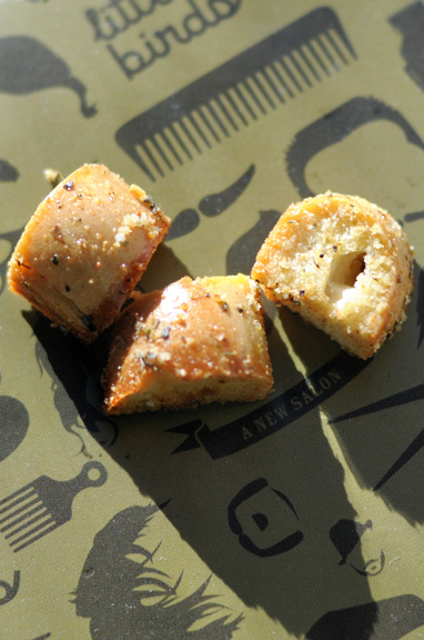 Spicy Old Bay Croutons