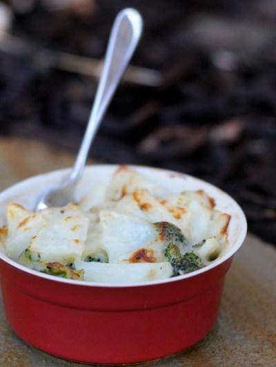 Potato-Broccoli Gratin
