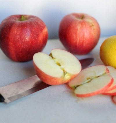 Cinnamon Sugar Roasted Apples