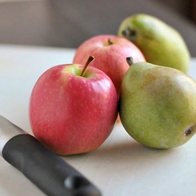 Cinnamon Apple Pear Sauce