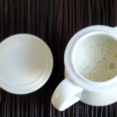 Homemade Almond Coffee Creamer
