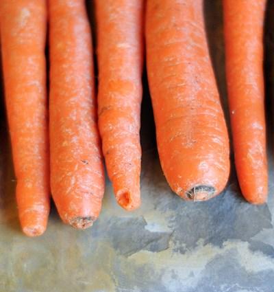 Honey Balsamic Whole Roasted Carrots