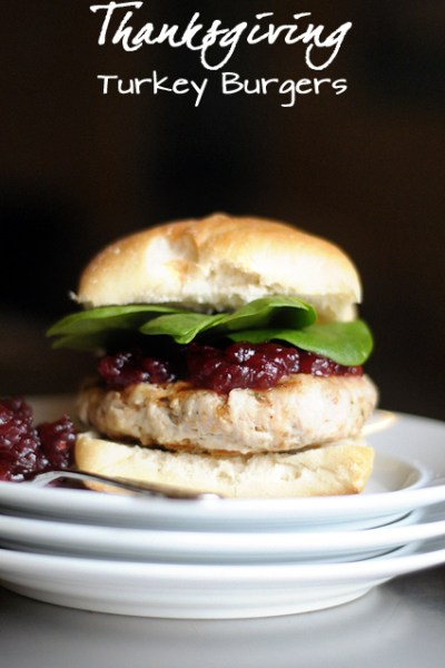 Easy Weeknight Thanksgiving Turkey Burgers