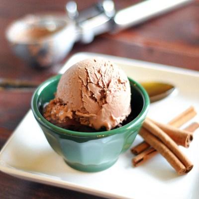 Cinnamon Milk Chocolate Frozen Yogurt