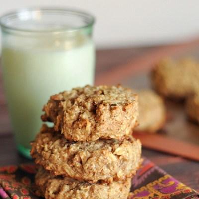 Apple Pecan Breakfast Cookies