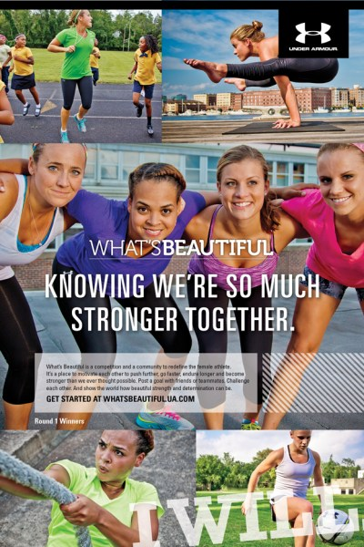#WhatsBeautiful with Under Armour