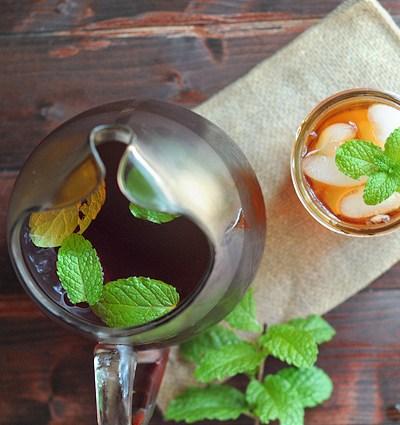 Sweet Mint Tea
