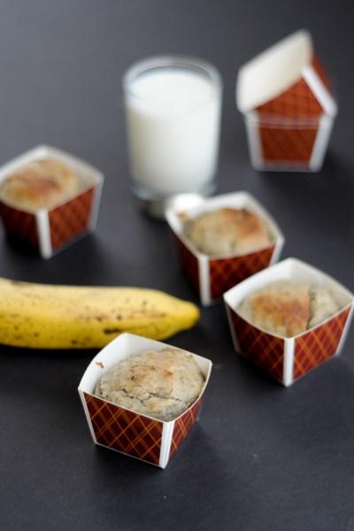 No Sugar Added Banana Baby Cakes