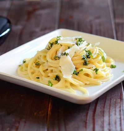 Creamy Lemon Parmesan Pasta