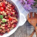 Oriental Chickpea Salad