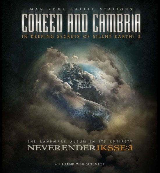 coheed and cambria silent earth 3 tour