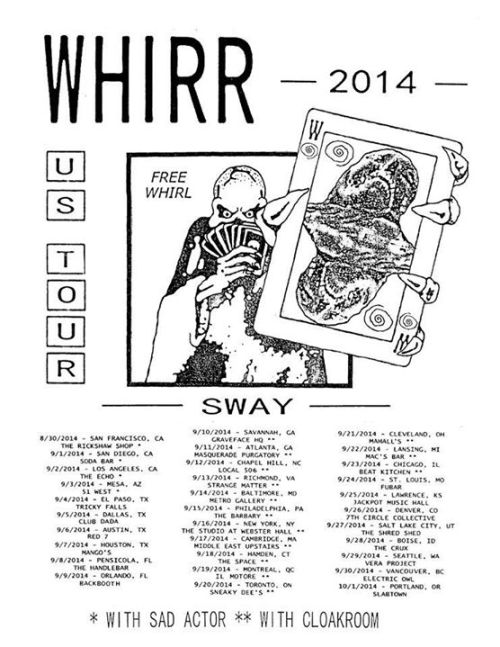 whirr poster