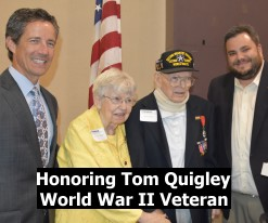 om Quigley Honored at October 2015 Luncheon