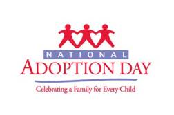National Adoption Day color-logo
