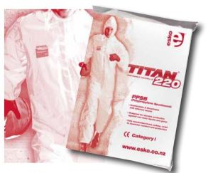 Titan 220 Disposable Coveralls - Category I