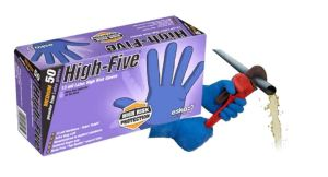 High Five High Risk Heavy Duty Latex 13mil Gloves 50pc/box