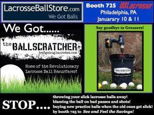 Lacrosse Ball Degreaser