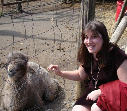 Circle G Ranch baby camel