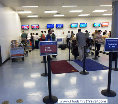 Singapore Air Houston check in