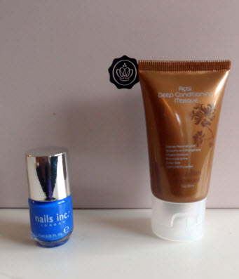 July Glossybox Brazillian Blowout and Baker Street Nail Polish