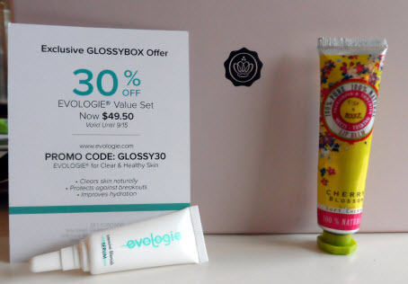 July Glossybox Evologie and Figs & Rouge