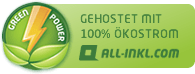 Webhosting mit 100% kostrom