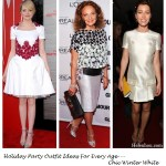 Holiday Party Outfit Ideas For Every Age—Chic Winter White