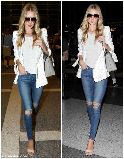 celebrity airport style 2014; models off duty looks; casual chic outfit ideas;