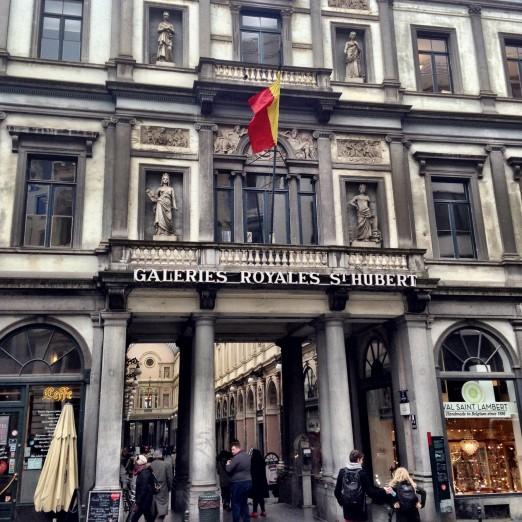 Galeries Royales St Hubert Exterior