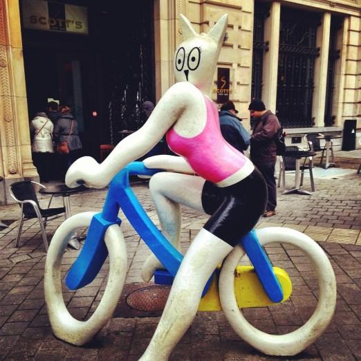La Cycliste