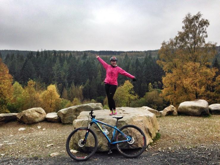 Mountain Biking at Coed Y Brenin with Beics Brenin